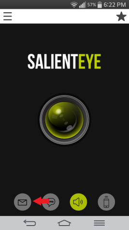 SalientEye Home Security email