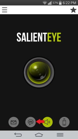 SalientEye Home Security sms