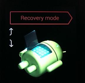 nexus 4 recovery mode