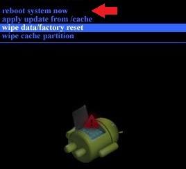 nexus 5 recovery reboot