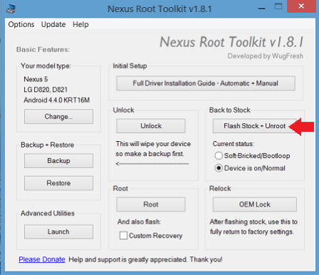 nexus root toolkit flash