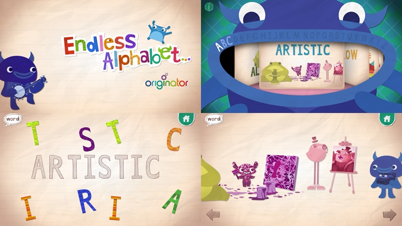 Endless Alphabet - Android Apps for Toddlers
