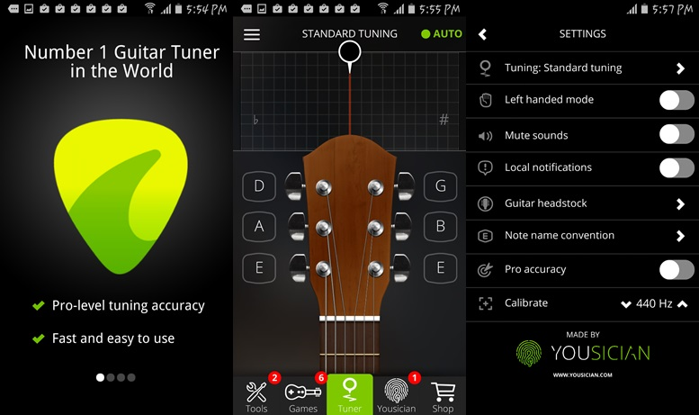 Guitar Applications For Android : 5 best android guitar tuner apps for perfect guitarists ~ Russianpoet.info Haus und Dekorationen