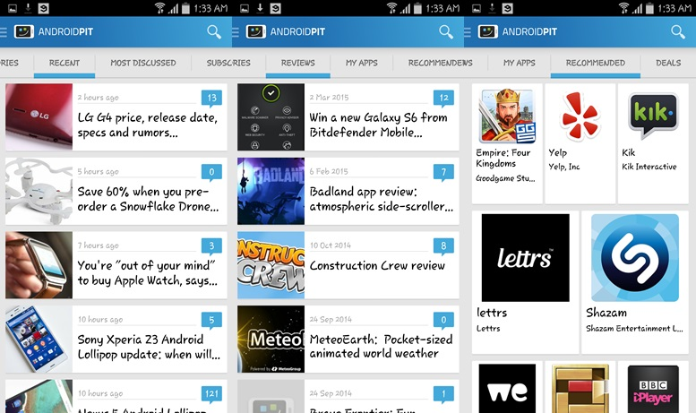 AndroidPIT - Android Market Apps for Phones and Tablets