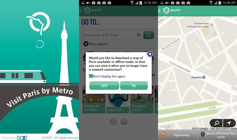 Visit Paris by Metro