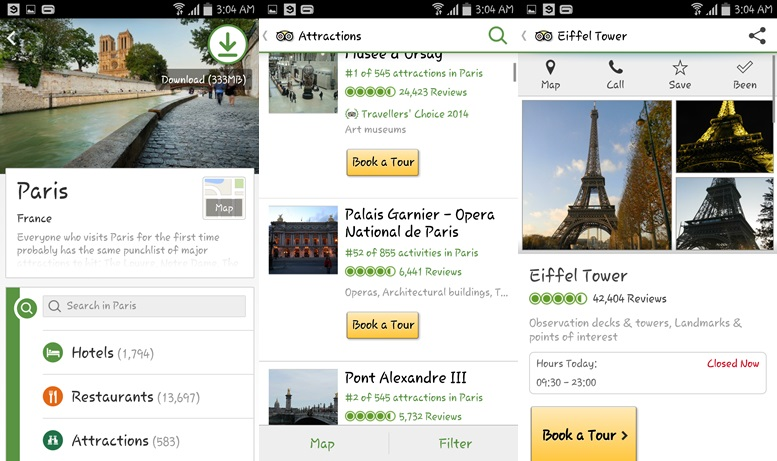 TripAdvisor - travel apps for Android