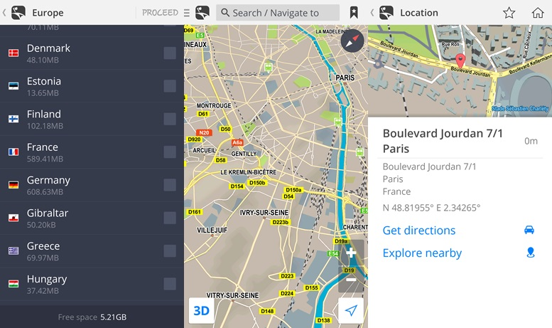 Maps by Sygic