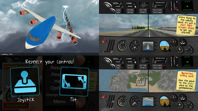 List of flight simulator games for android