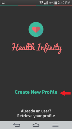 HI health tracker profile