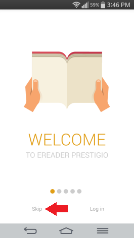 Prestigio reader tutorial