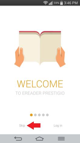 Prestigio reader tutorial