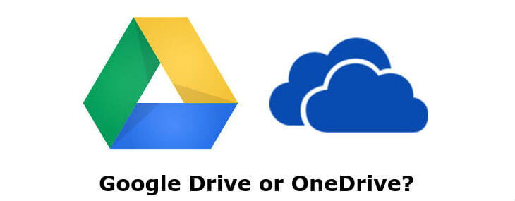 Google Drive vs Onedrive Android
