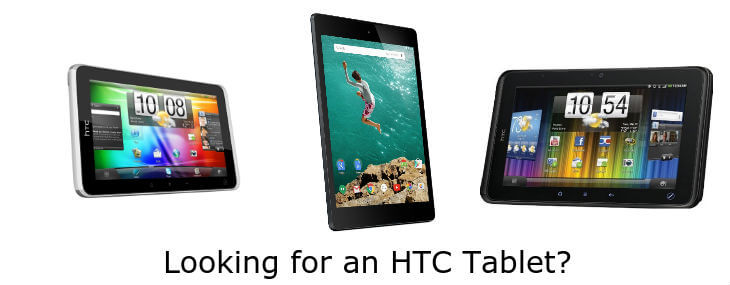 3 Best HTC Tablets for Android: Limited But Nice