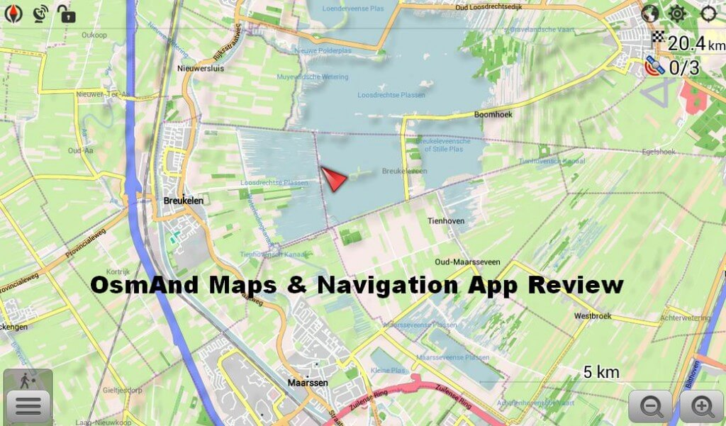 OsmAnd Maps & Navigation App Review (Android)