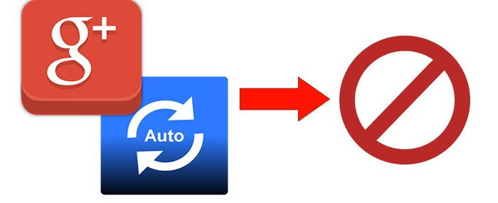 Turn Off Auto Backup on Google Plus