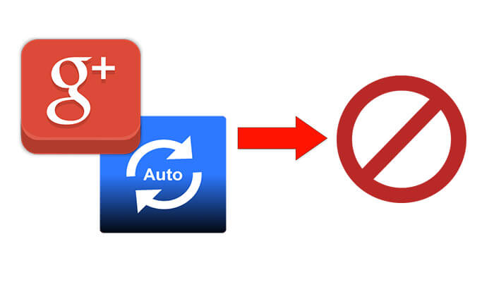 How to Turn Off Auto Backup on Google Plus
