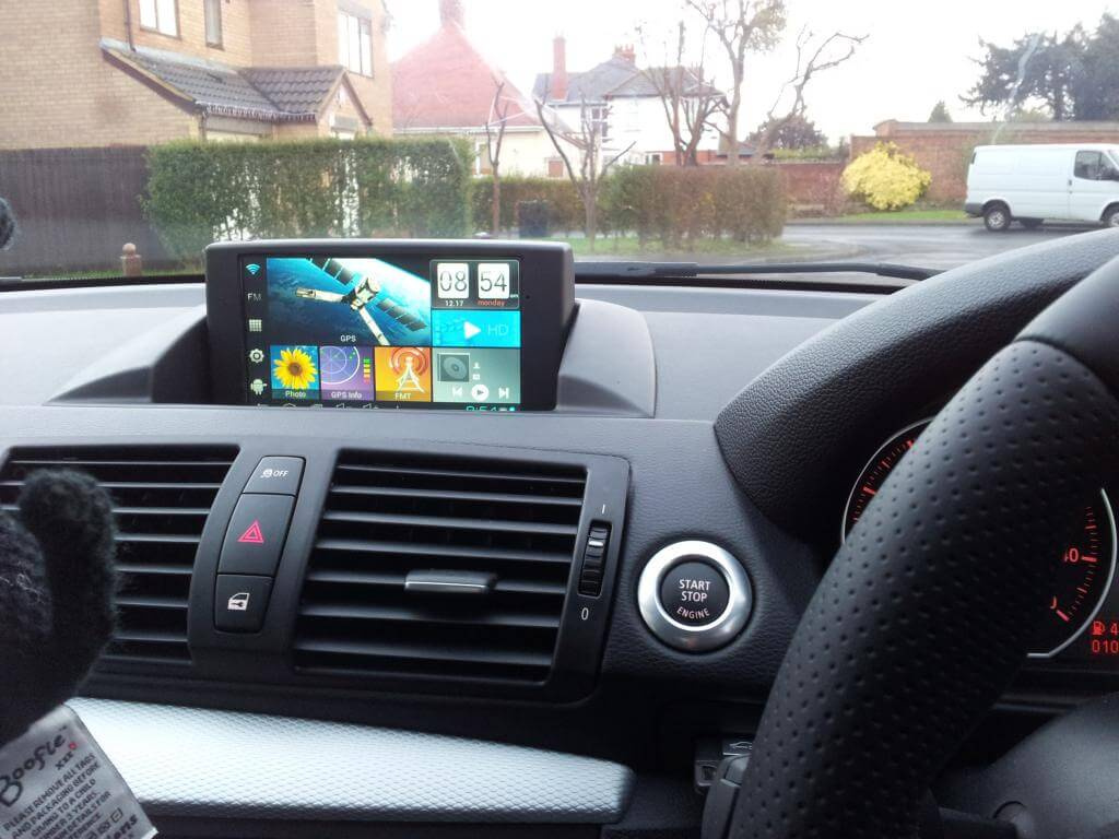 how to use android tablet as car pc. Black Bedroom Furniture Sets. Home Design Ideas