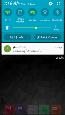 Assistant App review android015