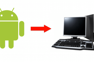 How to transfer files from Android To PC