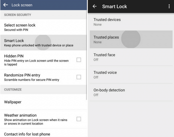 LG G4 Smart Lock