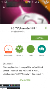 Review LG TV Remote - 012