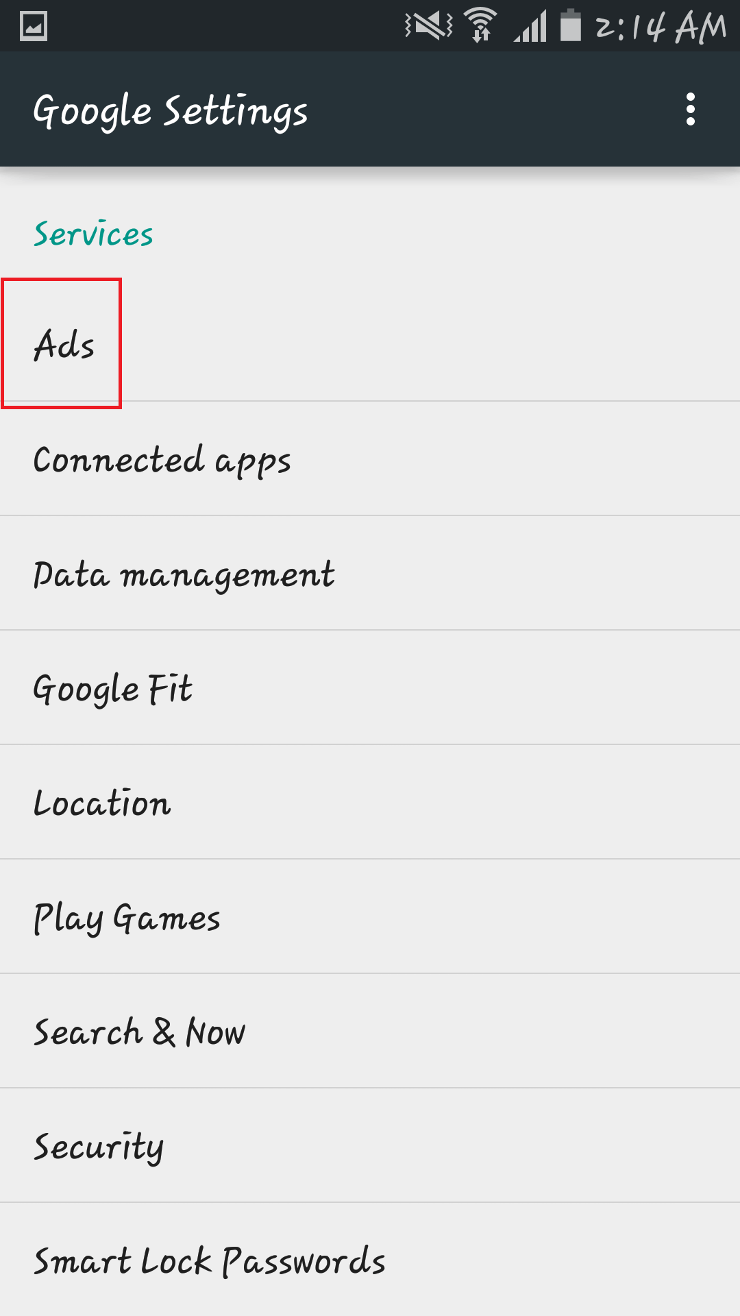 How to Stop Location Based Ads on Android