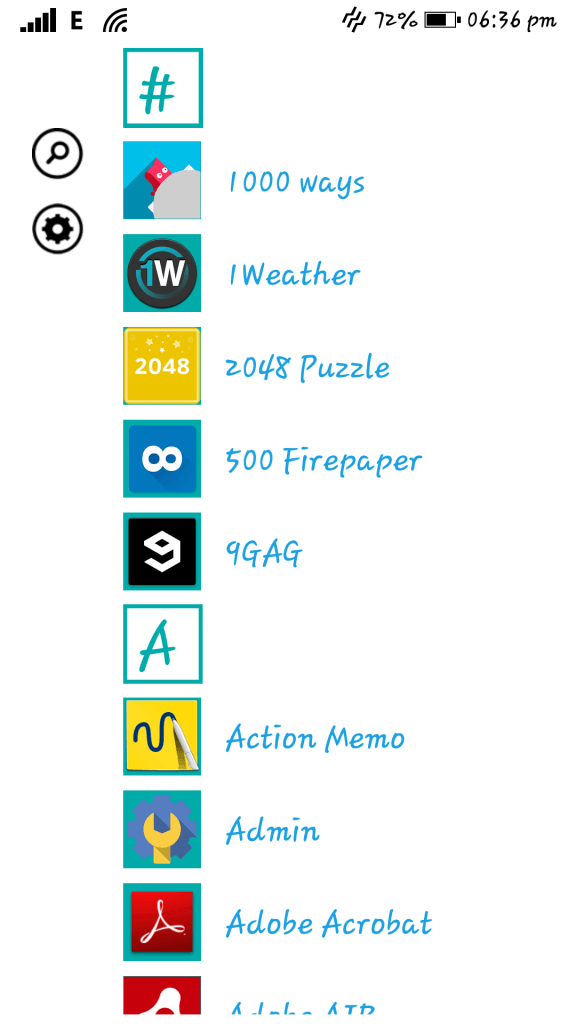 Windows 8 interface on Android - Launcher 8 (11)