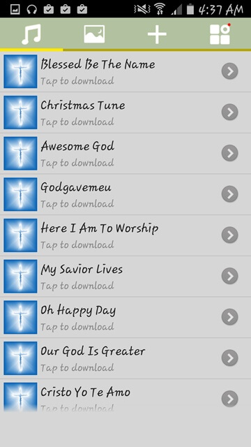 android groups ringtones