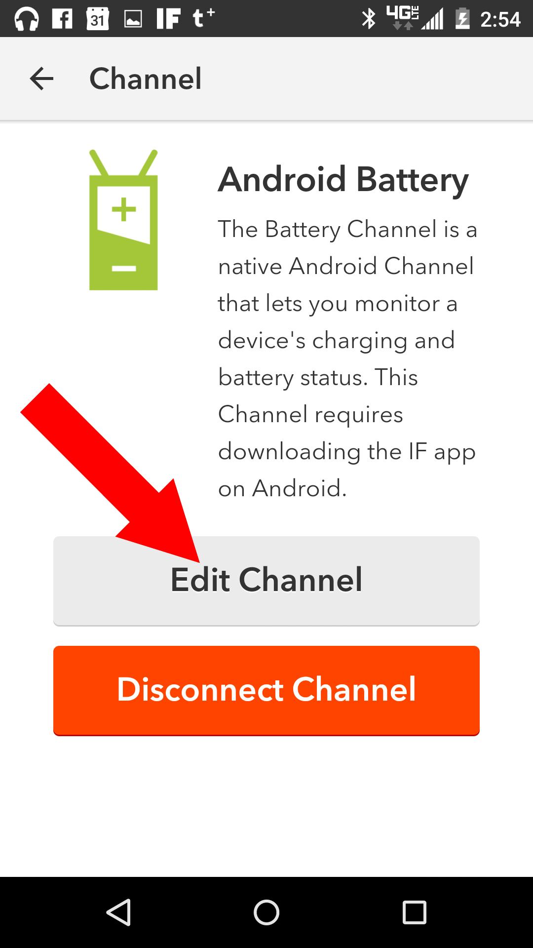 Edit Channel.