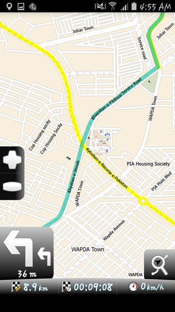 MapFactor Navigation 10