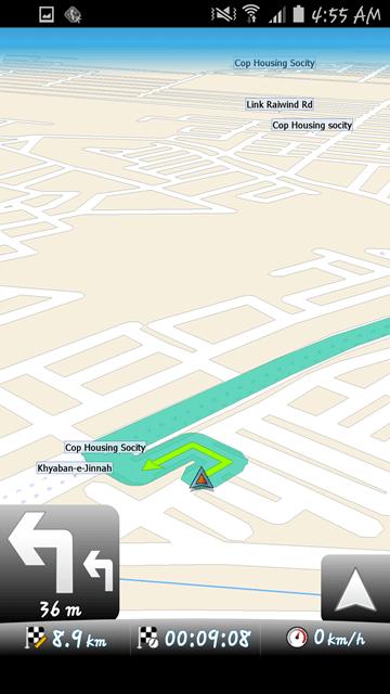 MapFactor Navigation 9