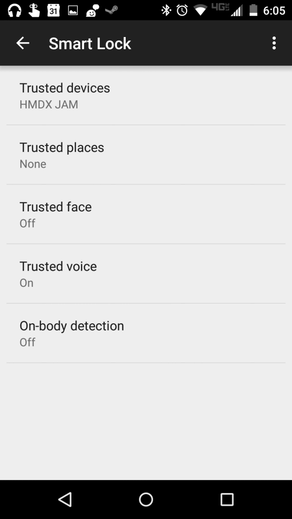 The Moto X has several methods it can use to determine if its user is handling it.