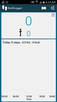 WalkLogger Pedometer App - 028