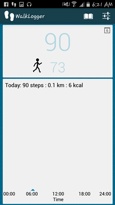 WalkLogger Pedometer App - 030