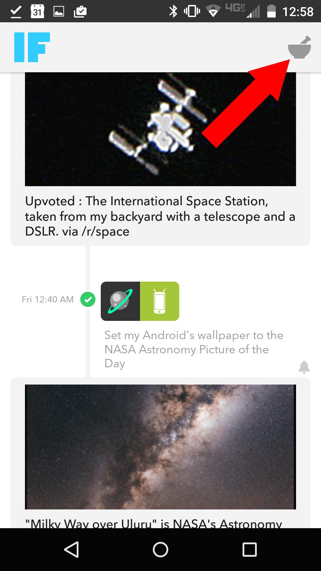 Recipe icon.