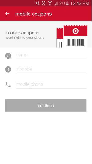 Shopping Apps for Android - Target 3