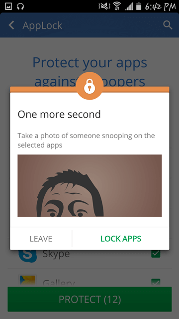 Exploring CM Security Antivirus and AppLock - no snooping