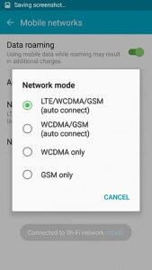 Galaxy-S6-Choose-Network-Mode