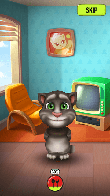 My Talking Tom - Changing Rooms