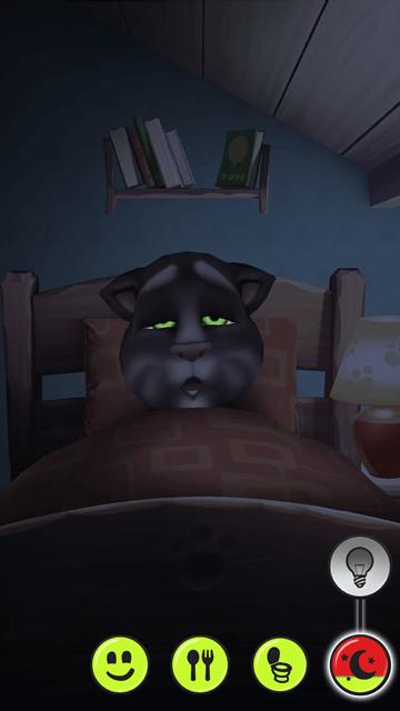 My Talking Tom - Sleeping