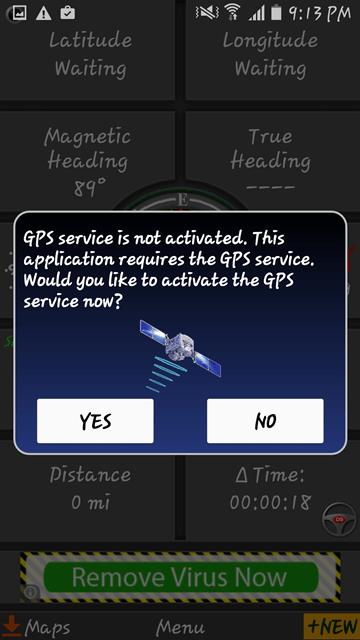 Polaris Navigation GPS-002