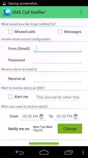 SMS-Call-Notifier-Setup