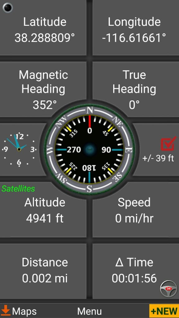 polaris navigation gps app