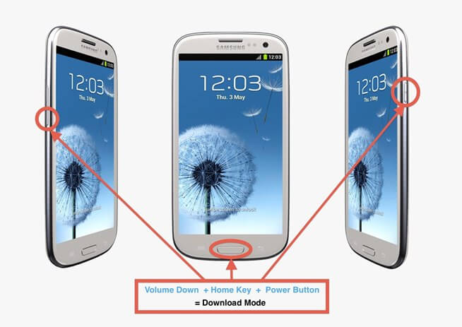 Root Samsung Galaxy S6 - Download-Mode