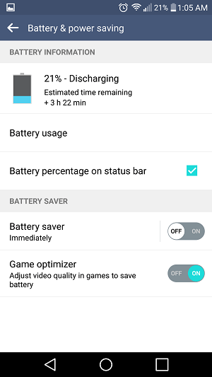 Lollipop Issues battery stats