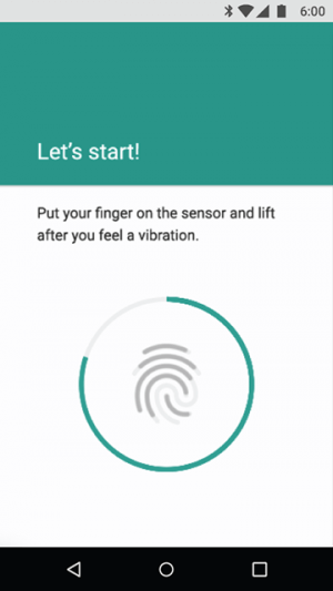 Android 6.0 Marshmallow - fingerprint-recognition