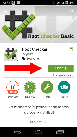 root checker download