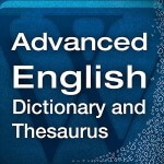 Advanced English and Thesaurus Icon