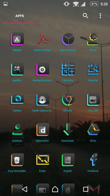 Icon Packs for Android Launchers