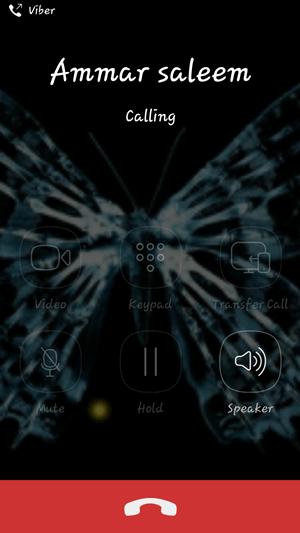 Calling on viber